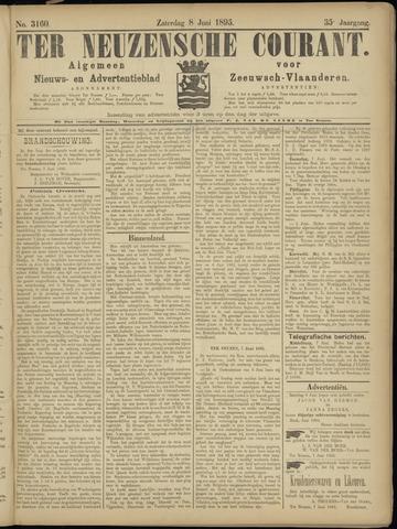 Ter Neuzensche Courant. Algemeen Nieuws- en Advertentieblad voor Zeeuwsch-Vlaanderen / Neuzensche Courant ... (idem) / (Algemeen) nieuws en advertentieblad voor Zeeuwsch-Vlaanderen 1895-06-08