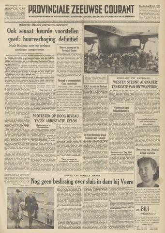 Provinciale Zeeuwse Courant 1957-07-25