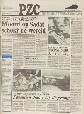 Provinciale Zeeuwse Courant 1981-10-07
