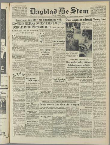 de Stem 1949-12-22