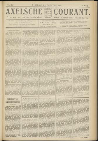 Axelsche Courant 1927-08-02