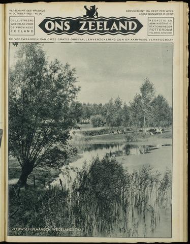 Ons Zeeland / Zeeuwsche editie 1932-10-14
