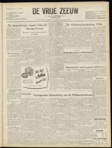 de Vrije Zeeuw 1954-09-17