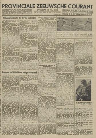 Provinciale Zeeuwse Courant 1943-07-17