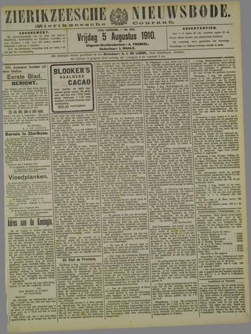 Zierikzeesche Nieuwsbode 1910-08-05