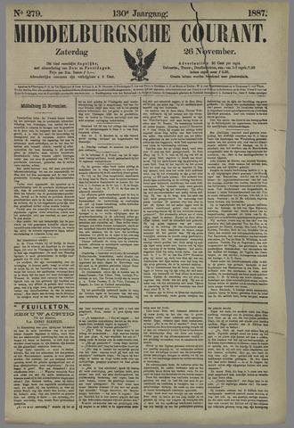 Middelburgsche Courant 1887-11-26