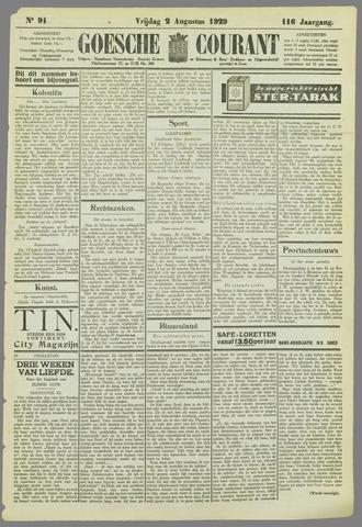 Goessche Courant 1929-08-02