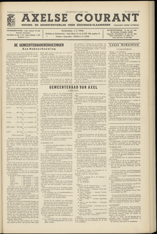 Axelsche Courant 1962-06-09
