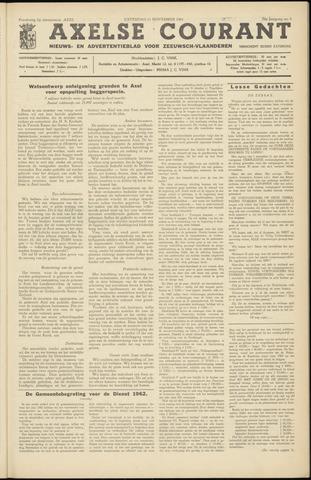 Axelsche Courant 1961-11-11