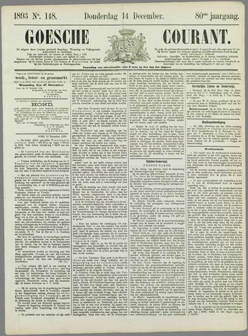 Goessche Courant 1893-12-14