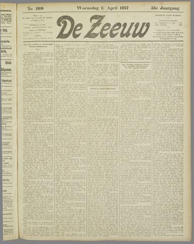 De Zeeuw. Christelijk-historisch nieuwsblad voor Zeeland 1917-04-11