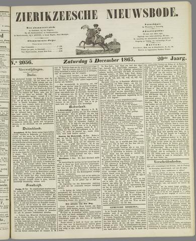Zierikzeesche Nieuwsbode 1863-12-05