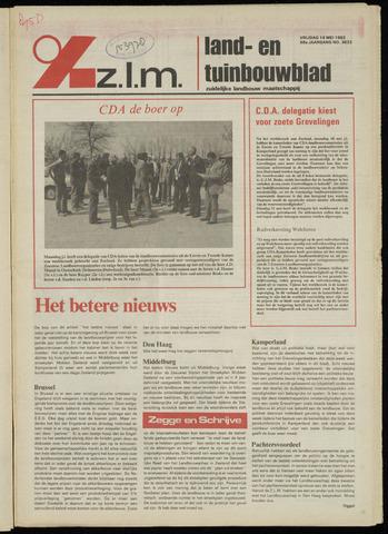 Zeeuwsch landbouwblad ... ZLM land- en tuinbouwblad 1982-05-14