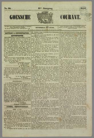 Goessche Courant 1854-07-27