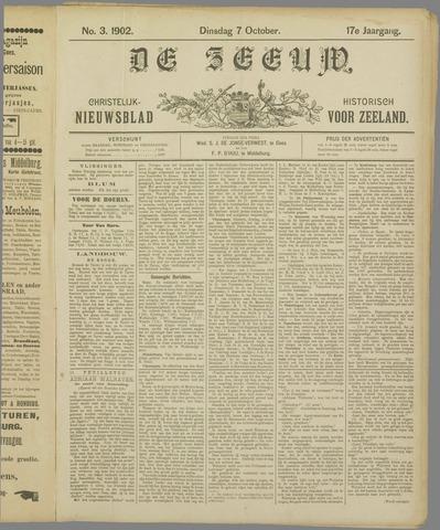 De Zeeuw. Christelijk-historisch nieuwsblad voor Zeeland 1902-10-07