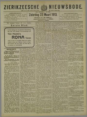 Zierikzeesche Nieuwsbode 1913-03-22