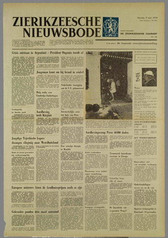Zierikzeesche Nieuwsbode 1970-06-09