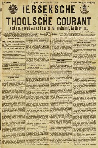 Ierseksche en Thoolsche Courant 1915-12-24