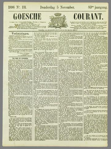 Goessche Courant 1896-11-05