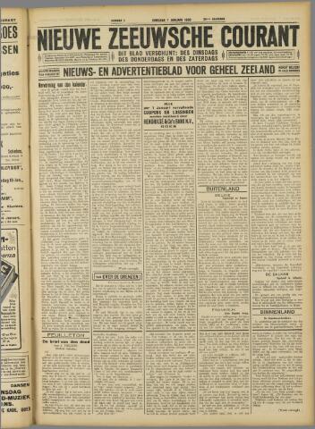 Nieuwe Zeeuwsche Courant 1930-01-07