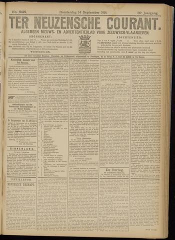 Ter Neuzensche Courant. Algemeen Nieuws- en Advertentieblad voor Zeeuwsch-Vlaanderen / Neuzensche Courant ... (idem) / (Algemeen) nieuws en advertentieblad voor Zeeuwsch-Vlaanderen 1916-09-14