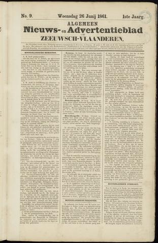 Ter Neuzensche Courant. Algemeen Nieuws- en Advertentieblad voor Zeeuwsch-Vlaanderen / Neuzensche Courant ... (idem) / (Algemeen) nieuws en advertentieblad voor Zeeuwsch-Vlaanderen 1861-06-26
