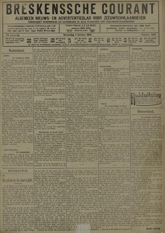 Breskensche Courant 1929-10-02