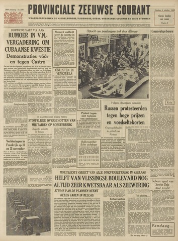Provinciale Zeeuwse Courant 1962-10-09