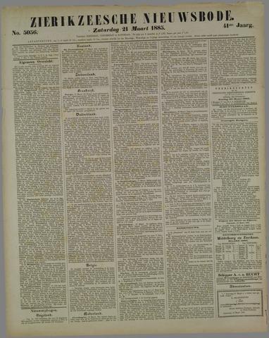 Zierikzeesche Nieuwsbode 1885-03-21
