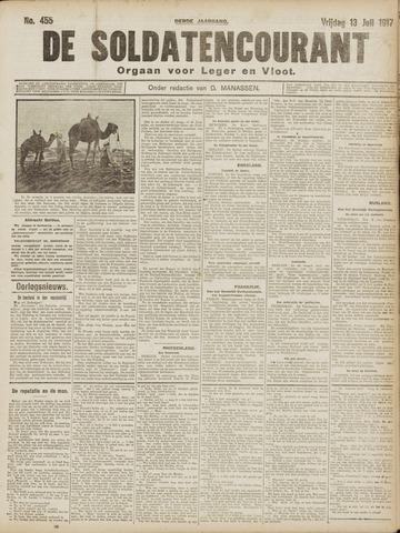 De Soldatencourant. Orgaan voor Leger en Vloot 1917-07-13