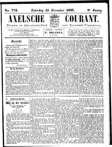 Axelsche Courant 1893-12-23