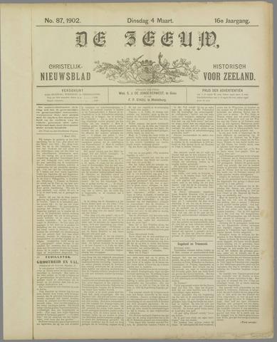 De Zeeuw. Christelijk-historisch nieuwsblad voor Zeeland 1902-03-04