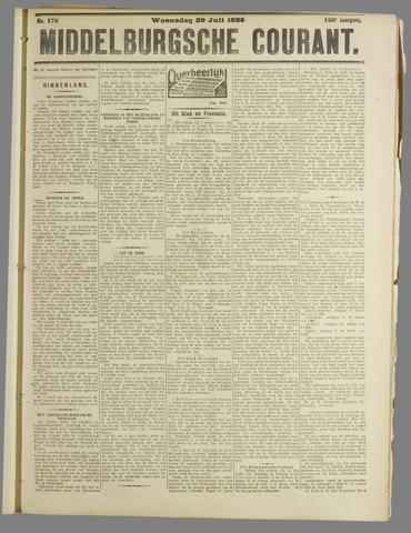 Middelburgsche Courant 1925-07-29