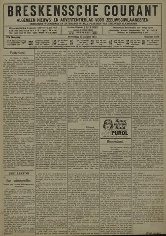 Breskensche Courant 1929-01-23