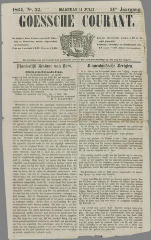 Goessche Courant 1864-07-11