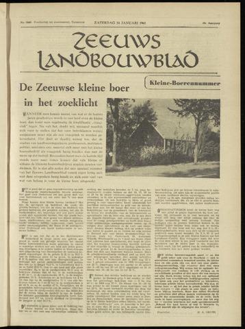 Zeeuwsch landbouwblad ... ZLM land- en tuinbouwblad 1961-01-14