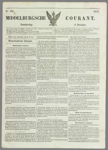 Middelburgsche Courant 1857-10-08