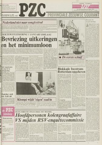 Provinciale Zeeuwse Courant 1984-08-30