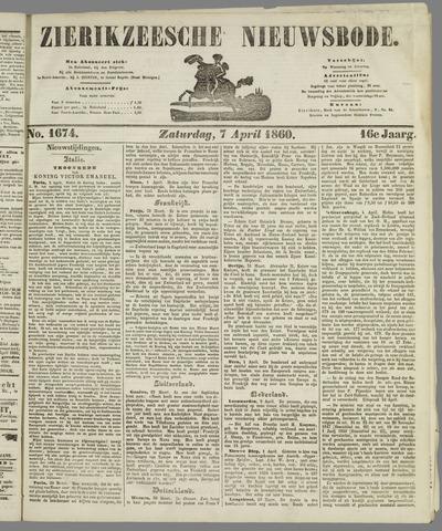 Zierikzeesche Nieuwsbode 1860-04-07