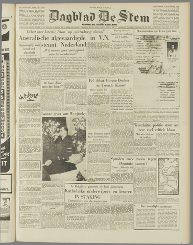 de Stem 1954-11-25