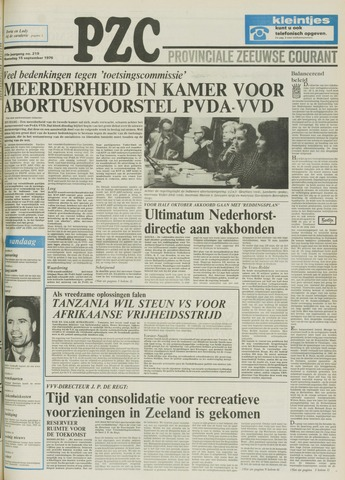 Provinciale Zeeuwse Courant 1976-09-15