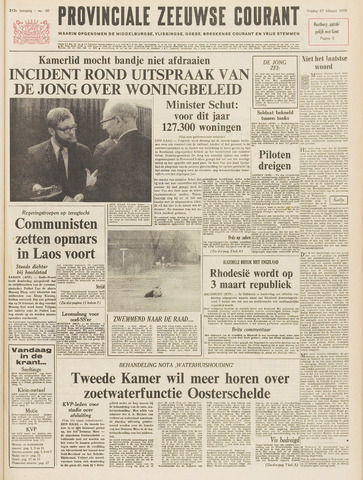 Provinciale Zeeuwse Courant 1970-02-27