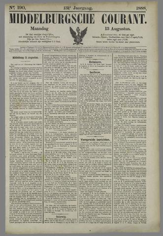 Middelburgsche Courant 1888-08-13