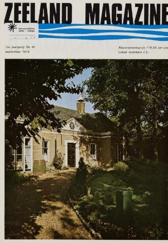 Zeeland Magazine / Veerse Meer Gids 1978-09-01