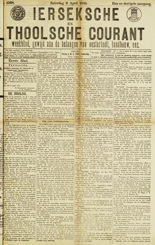 Ierseksche en Thoolsche Courant 1915-04-03