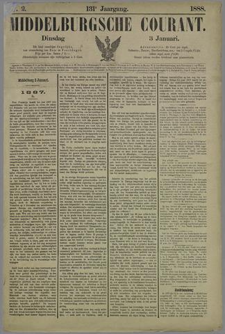 Middelburgsche Courant 1888-01-03