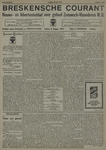 Breskensche Courant 1937-06-25