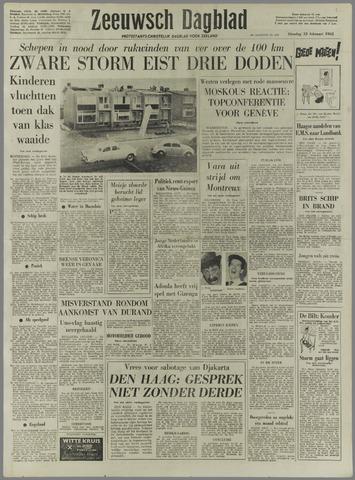 Zeeuwsch Dagblad 1962-02-13