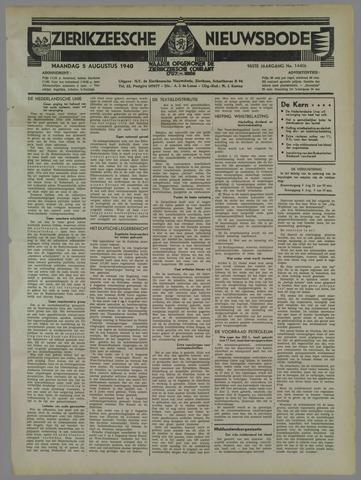 Zierikzeesche Nieuwsbode 1940-08-05