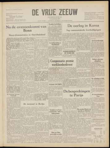 de Vrije Zeeuw 1952-05-29